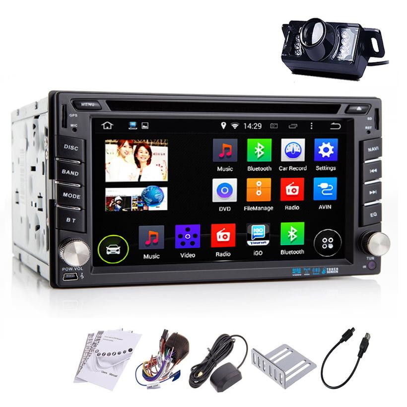 "iMeshbean 6.2"" GPS Navigation HD Double 2 DIN Car Stereo ..."