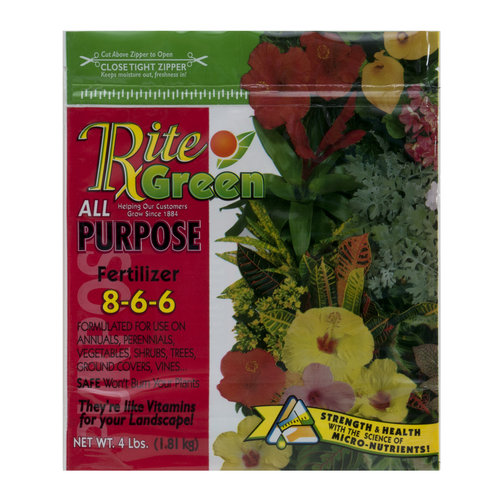 Rite Green All Purpose Plant Food, 4 lbs