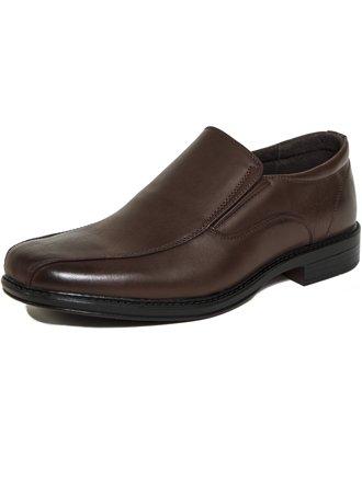 Alpine Swiss Men's Dress Shoes Leather Lined Slip On Loafer…