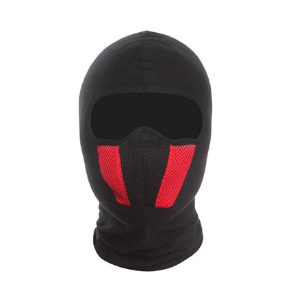 Lycra Motorcycle Cycling Ski Face Mask Mesh Breathable Dustproof