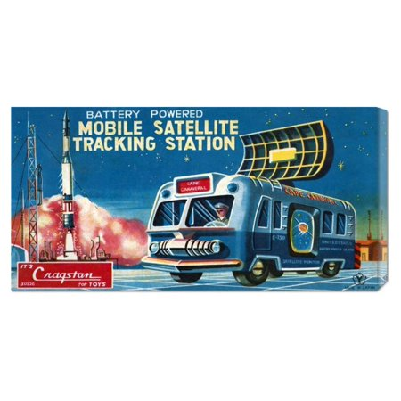 Mobile Satellite Tracking Station By Retrotrans