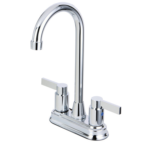 Kingston Brass Nuvofusion Double Handle Kitchen Faucet