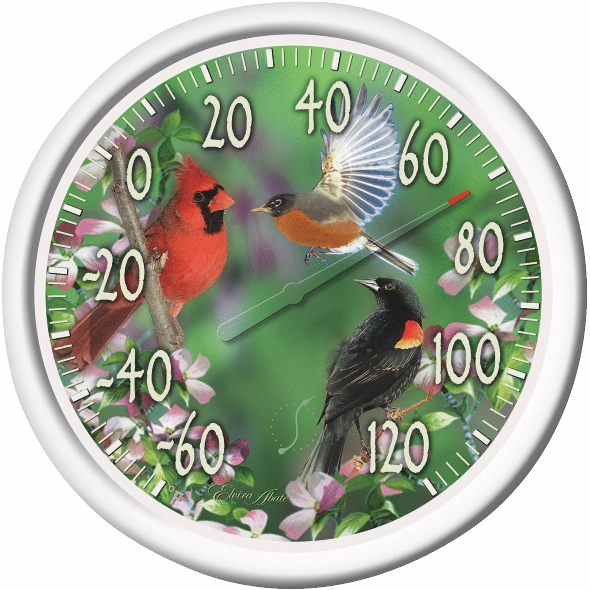 "Taylor 13.25"" Dial Indoor And Outdoor Thermometer by Taylor Precision Products"