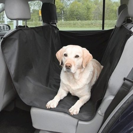 ABLEHOME HEAVY DUTY DOG CAR SEAT COVER BACK SEAT PET WATERPROOF BLACK OXFORD