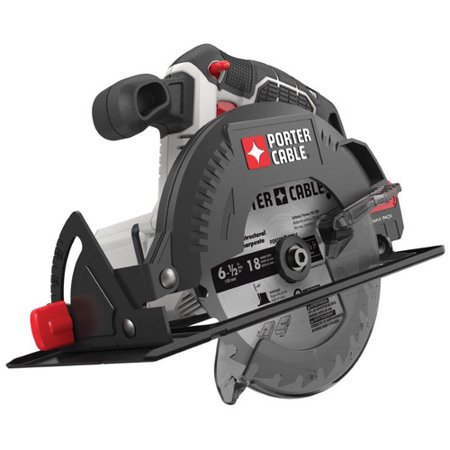 PORTER CABLE PCC660B 20V MAX Lithium-Ion 6-1/2-Inch Cordless Circular Saw (Bare Tool / Battery Sold Seperately)