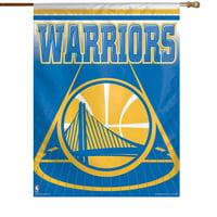 Golden State Warriors 27'' x 37'' Vertical Banner Flag - No Size
