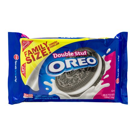 Nabisco Oreo Double Stuf Chocolate Sandwich Cookies  20 Oz