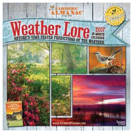 Farmers Almanac Weather Lore 2017 Calendar