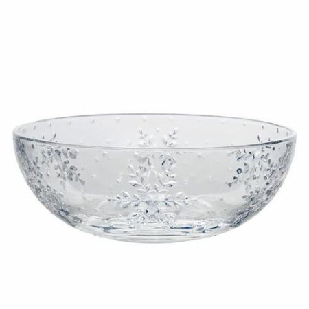 Mikasa Celebrations Winter Flurries Collections Crystal (Mikasa Crystal Bowls)