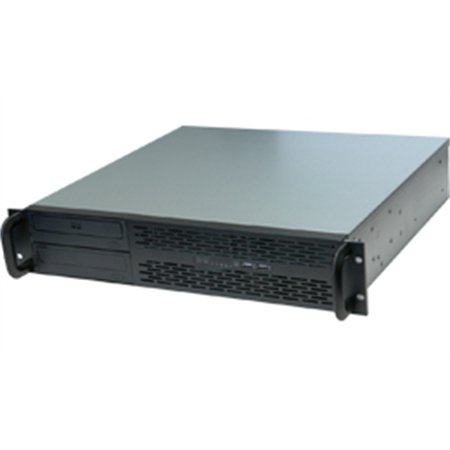 Norco 113750 Case Rpc-231 2u Rackmount Black 2/0/[2] Bays 0xhdd Tray 0xbackplane Case Only