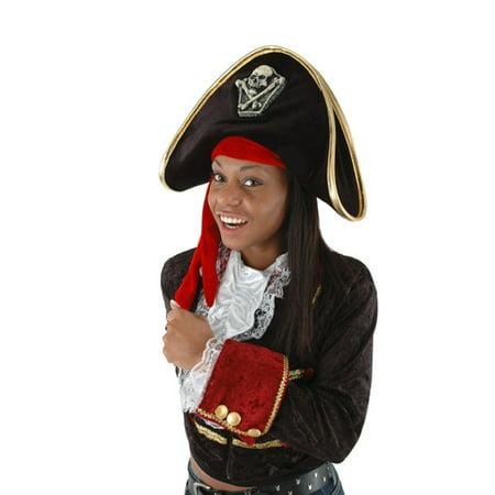 Pirate Adult Costume Hat - Hot Pirate Costumes