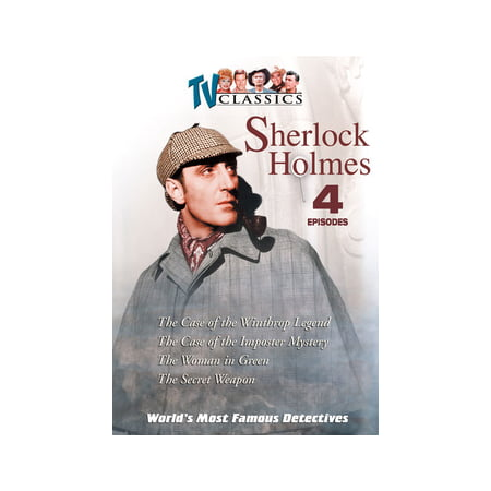 The World's Most Famous Detectives Volume 4 (DVD)