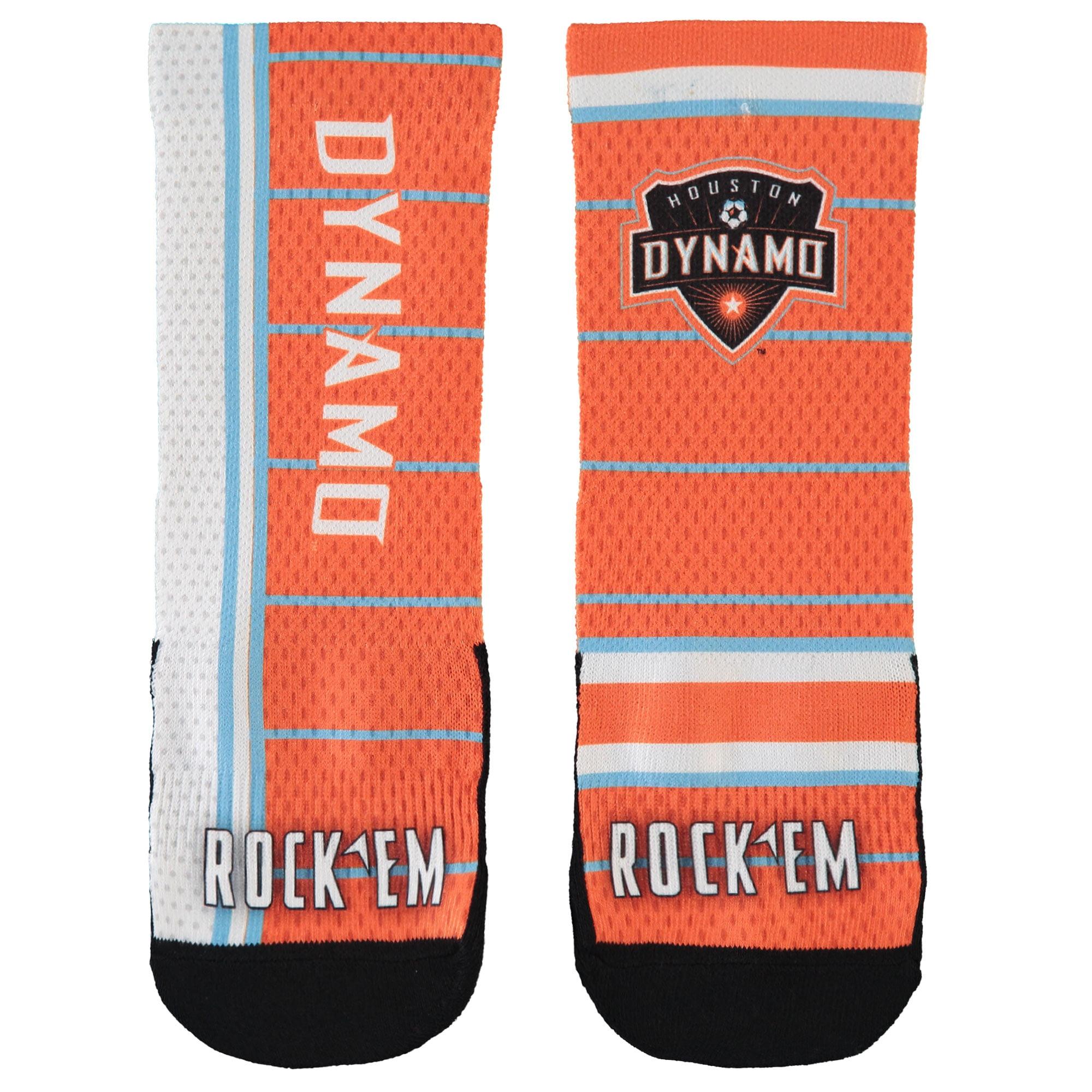 Houston Dynamo Youth Match Up Socks - No Size