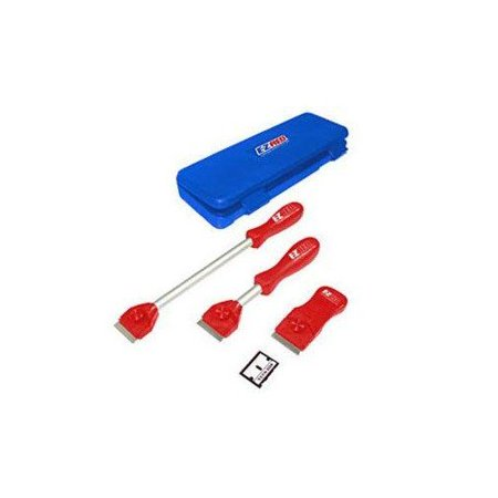 MS3000 Monster Scraper Kit, Includes 3 scrapers and 5 extra blades By EZ Red Ship from
