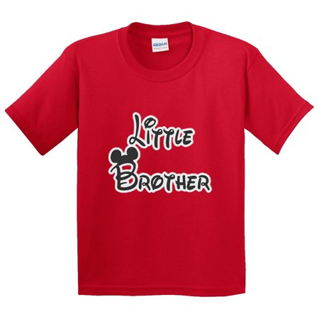 New Way 552 - Youth T-Shirt Little Brother Mickey Mouse Ears