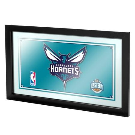 Trademark Charlotte Hornets NBA Framed Logo Mirror ()
