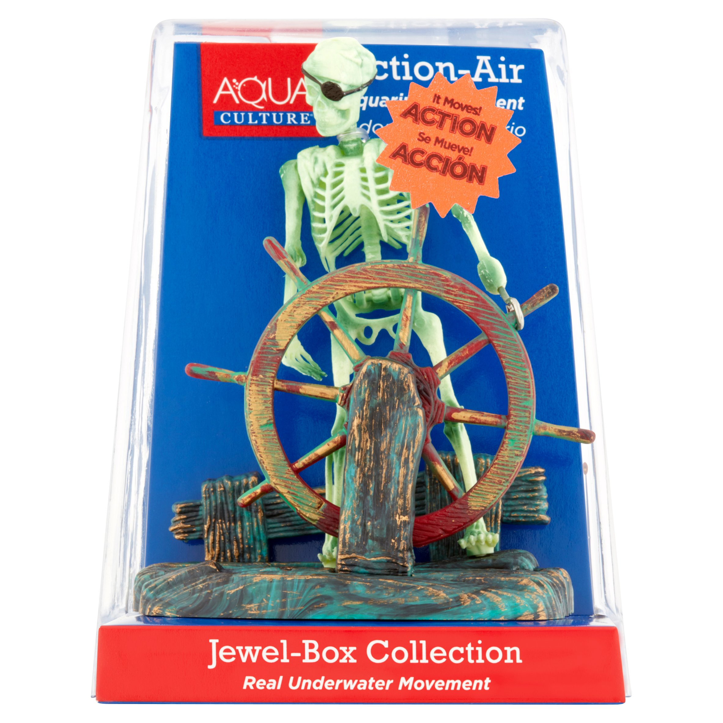 Aqua Culture Jewel-Box Collection Moving Aquarium Ornament