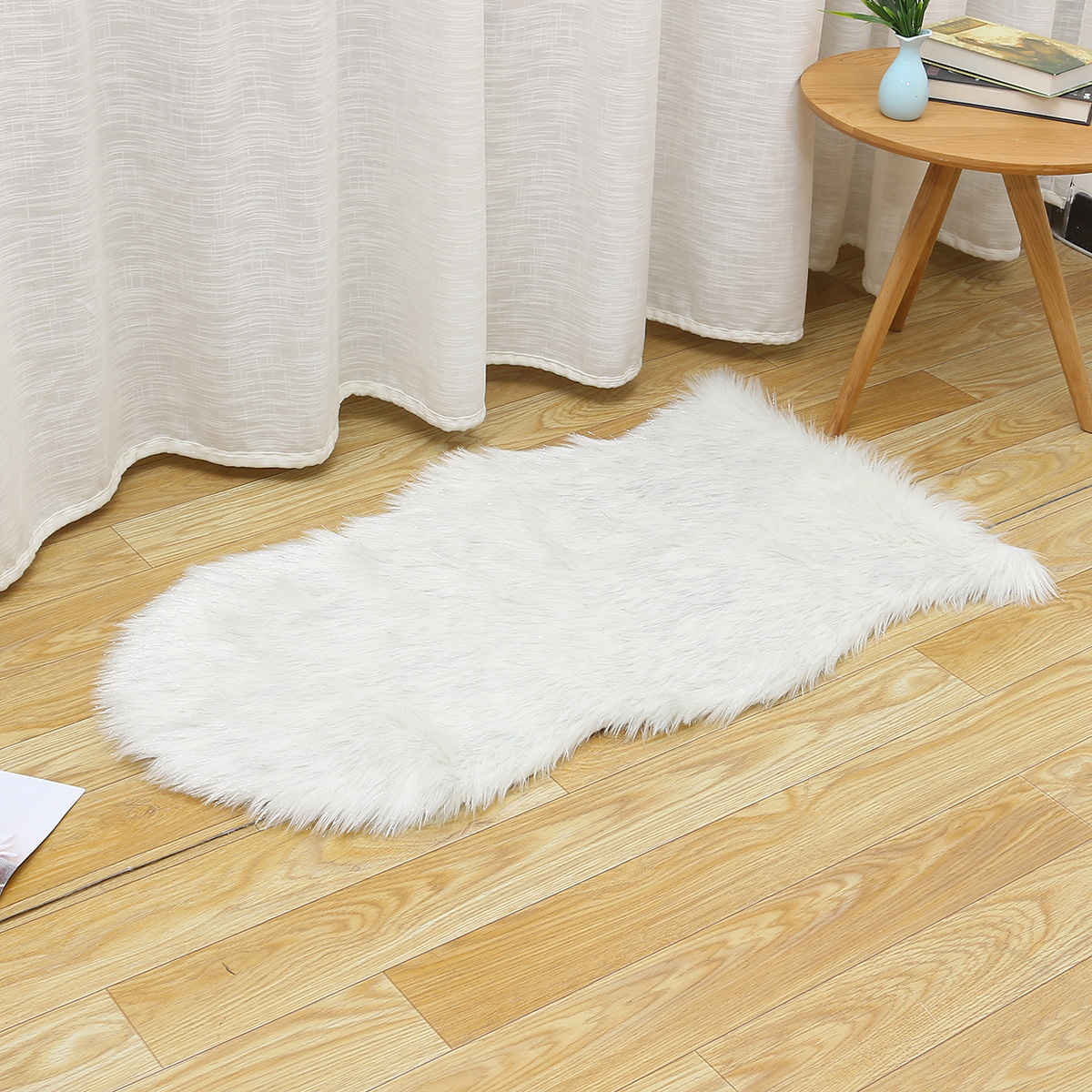 Irregular Shape Soft Artificial Wool