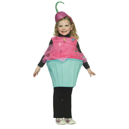 Toddlers Sweet Eats Cupcake Halloween Costume - Cupcake Halloween Costumes For Tweens