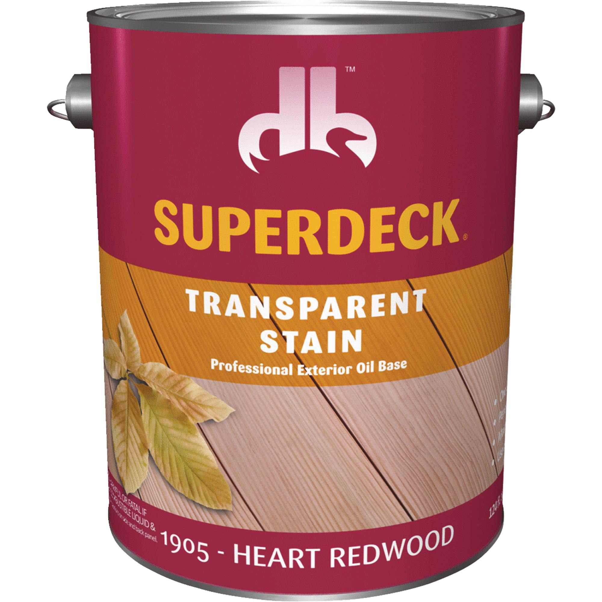 Duckback SUPERDECK Transparent Exterior Stain