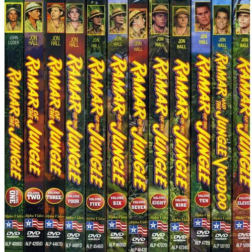 Ramar Of The Jungle: Volumes 1-11 and Feature Film