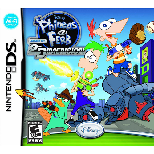 Phineas and Ferb: Across the Second Dimension (DS)