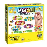 Creativity for Kids Emoji Bracelets Craft Kit