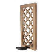 Screen Gems WOOD CANDLE HOLDER WD-079