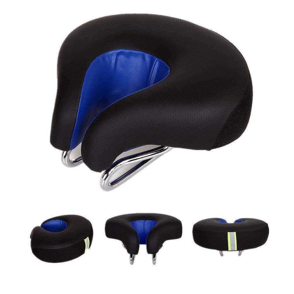 Bike Saddle Seat No Nose MTB Mountain High Resilience Bicycle Seats Comfortable Ergonomic Cycling Pad Cushion
