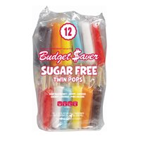 Budget Saver Assorted Sugar Free Twin Pops