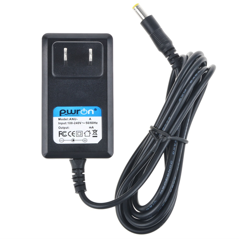 PwrON 6.6 FT Long 9.5V 1A AC to DC Power Adapter Charger For Casio Keyboard SA-76 WK-220 WK-225 XW-G1 XW-P1 CTK-240 CTK-1100 CTK-2080 LK-120