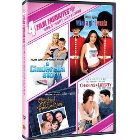 4 Film Favorites: Girls' Night Collection: A Cinderella Story / The Sisterhood Of The Traveling Pants / What A Girl Wants / Chasing Liberty