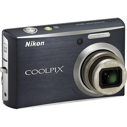 Nikon Coolpix S610 10MP Digital Camera with 4x Optical Vi...