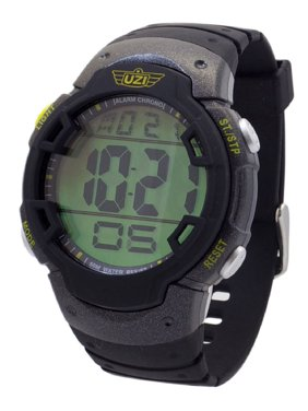 83872ab40 Product Image Men s -89-R The Guardian Black Rubber Strap Watch  Multi-Colored. UZI