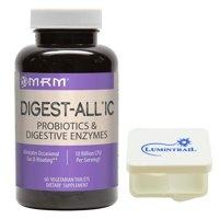 MRM Digest-All IC Probiotics & Digestive Enzymes, 60 ct w/ Pill Case