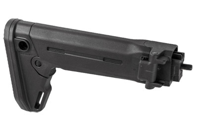 Magpul Industries Zhukov-S Stock, Fits Yugoslavian Pattern AK Rifles, Black Finish, Folding Stock, Can be used with Opti by Magpul Industries