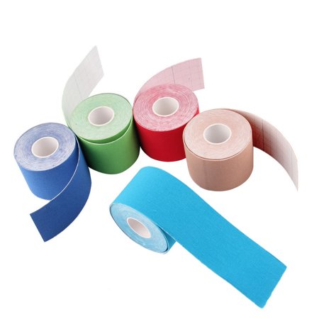 1 Roll 5Cm X 5M Kinesiology Sports Elastic Tape Muscle Pain Care Therapeutic