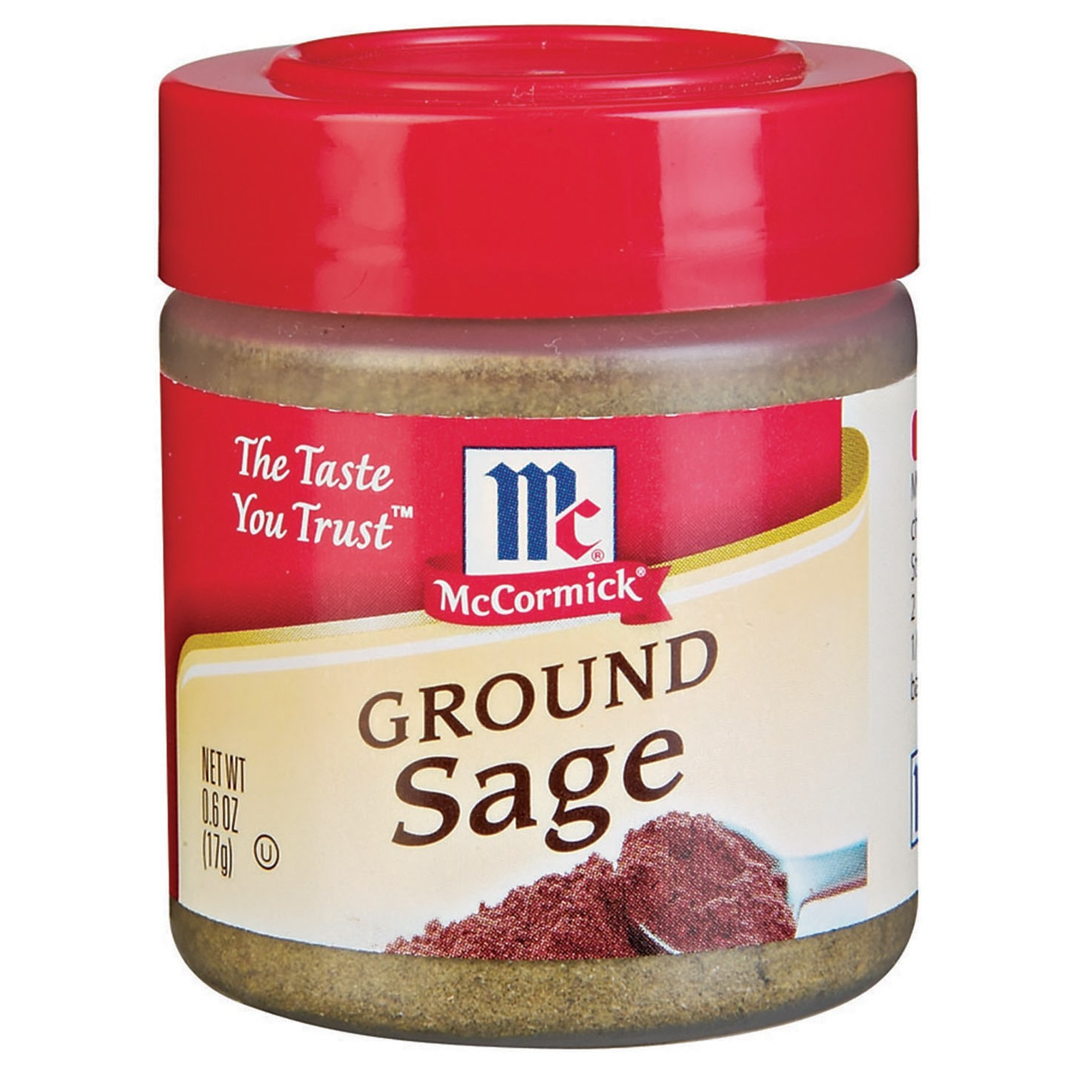 McCormick Specialty Herbs And Spices Ground Sage, 0.6 Oz