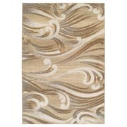 "Kas Natural Srolls Machine-Made 100% Multi-Textured Polypropelene 2'2"" x 3'3"" - Area Rug"