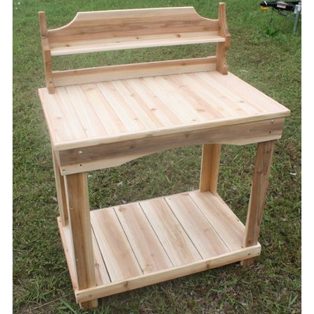 Cedar Creek Woodshop Potting Bench