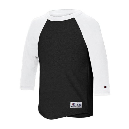 Champion T13Y Youth Raglan Baseball T-Shirt ()