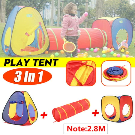 Childrens Kids Baby Foldable Play Tent
