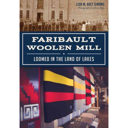 Faribault Woolen Mill  Loomed In The Land Of Lakes