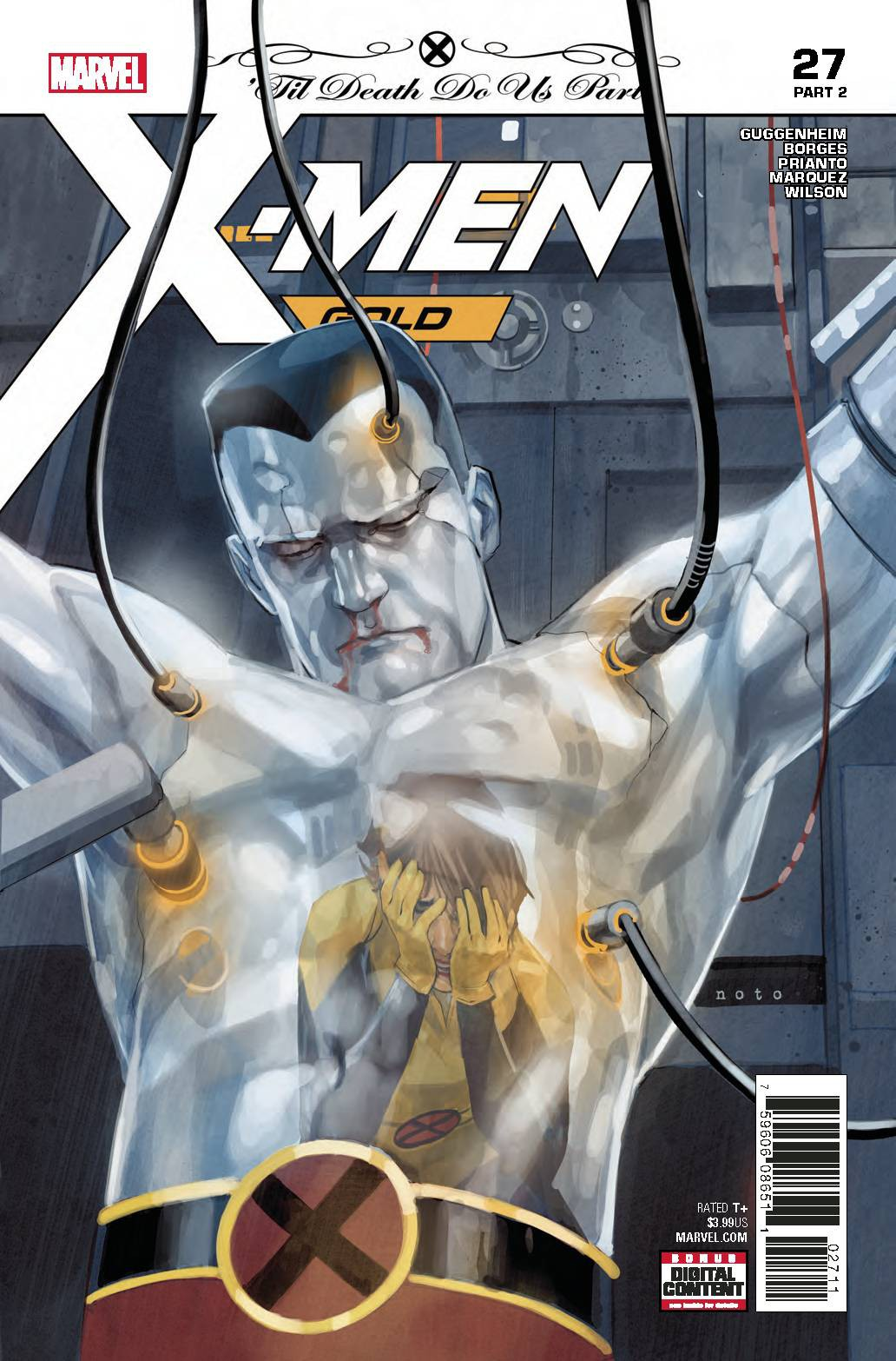Marvel X-Men Gold #27 by
