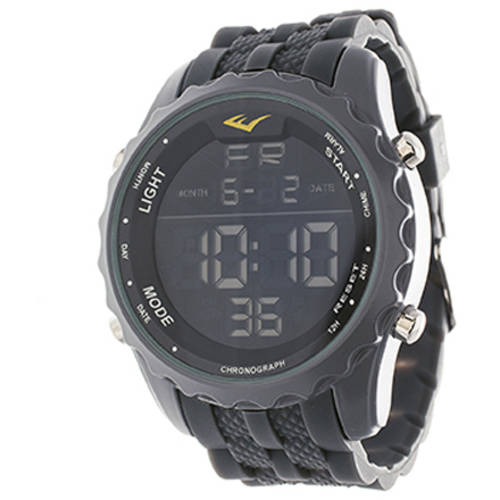 Everlast Men's Digital Watch, Gray
