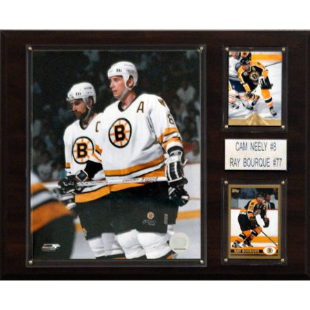 C&I Collectables NHL 12x15 Neely-Bourque Boston Bruins Player