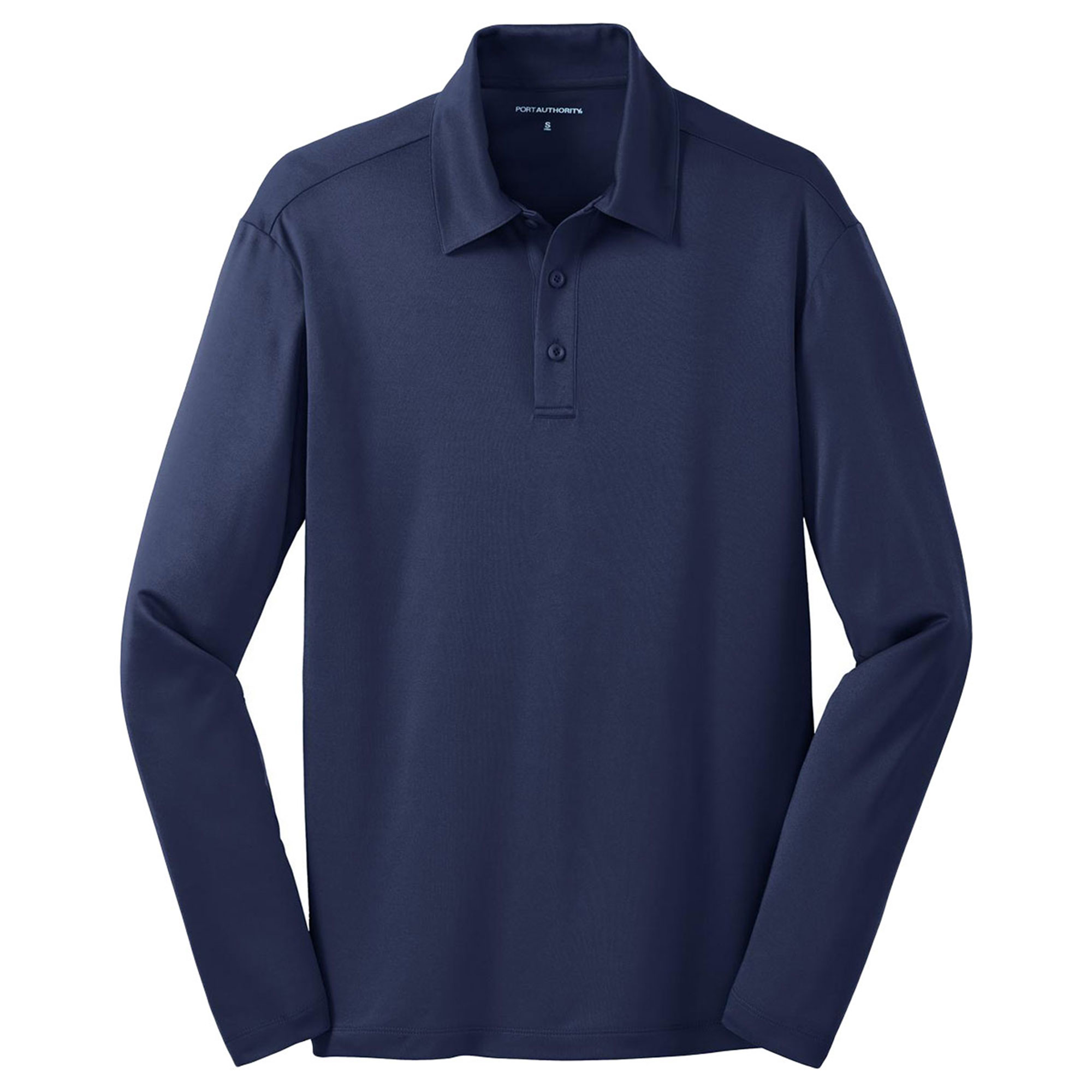 Port Authority Men's Silk Touch Performance Long Sleeve Polo Shirt