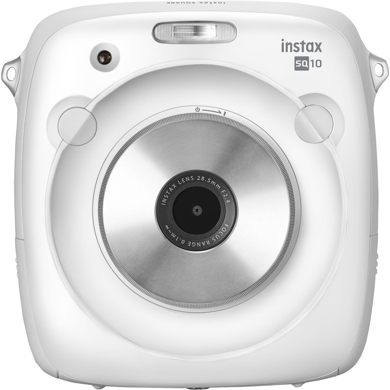 FujiFilm instax SQUARE SQ10 Instant Film Camera White by Fujifilm