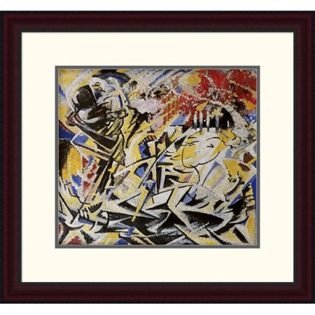 Global Gallery The Dynamic Sensation Of The Dance By Jules Schmalzigaug Framed Painting Print