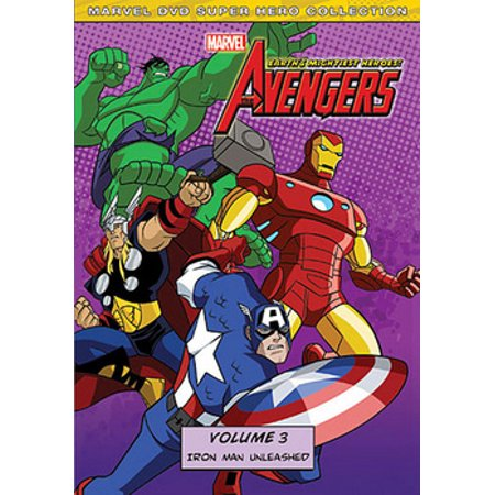 The Avengers: Earth's Mightiest Heroes Volume 3 Iron Man Unleashed (DVD) - Iron Man Suit For Children